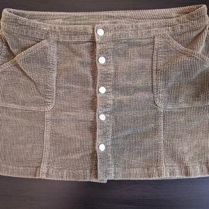 Corduroy Skirt Size 18 Women Wild Fable